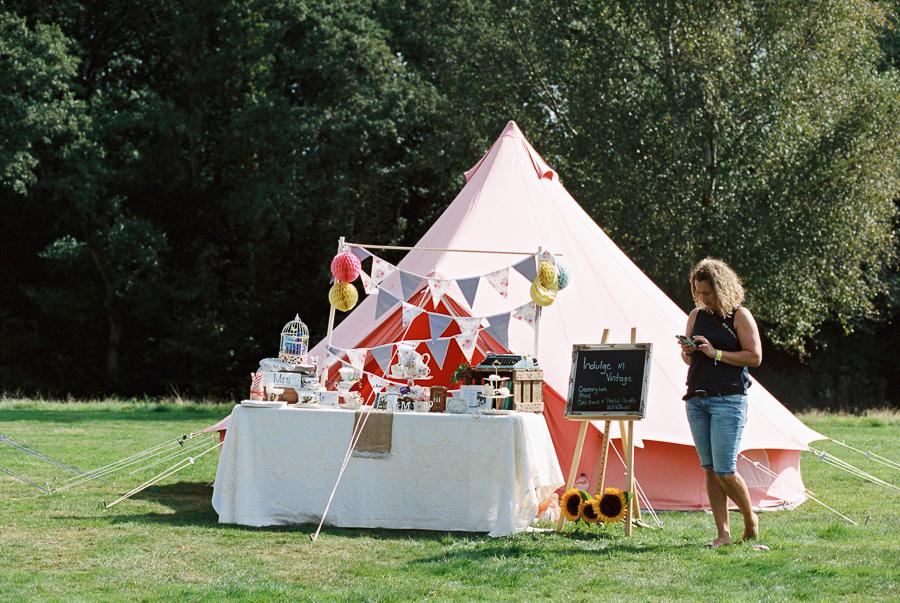 Festival Style wedding fair at Fairthorne Manor