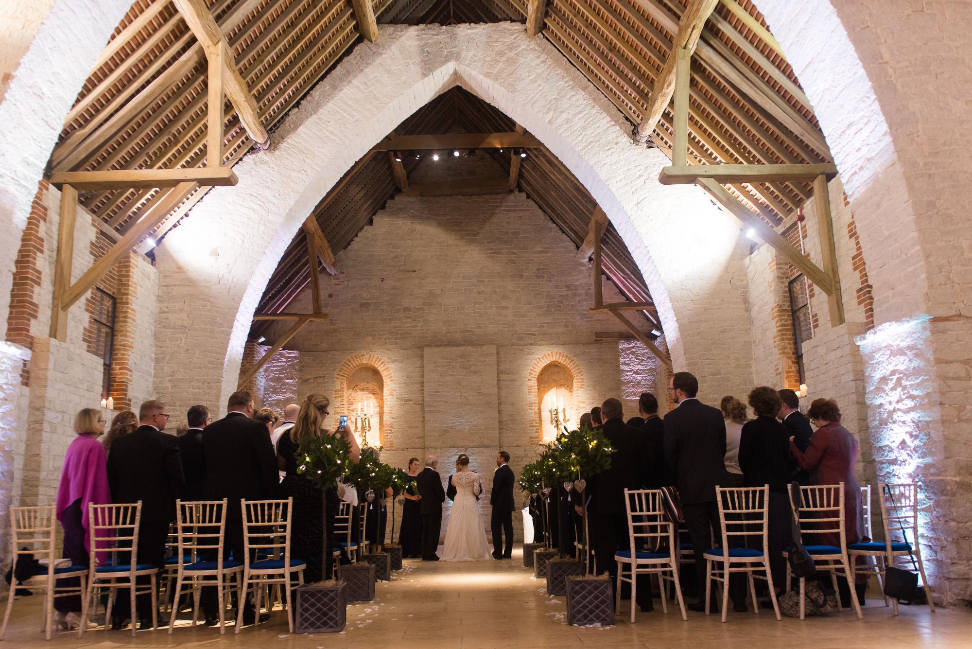 The Tithe Barn Winter Wedding Of Abby And Jon Wedding