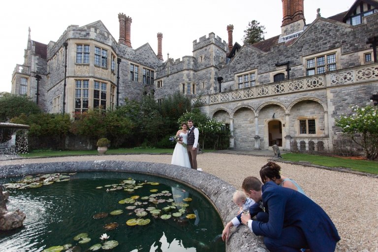 Outdoor Wedding Ceremony At Rhinefield House