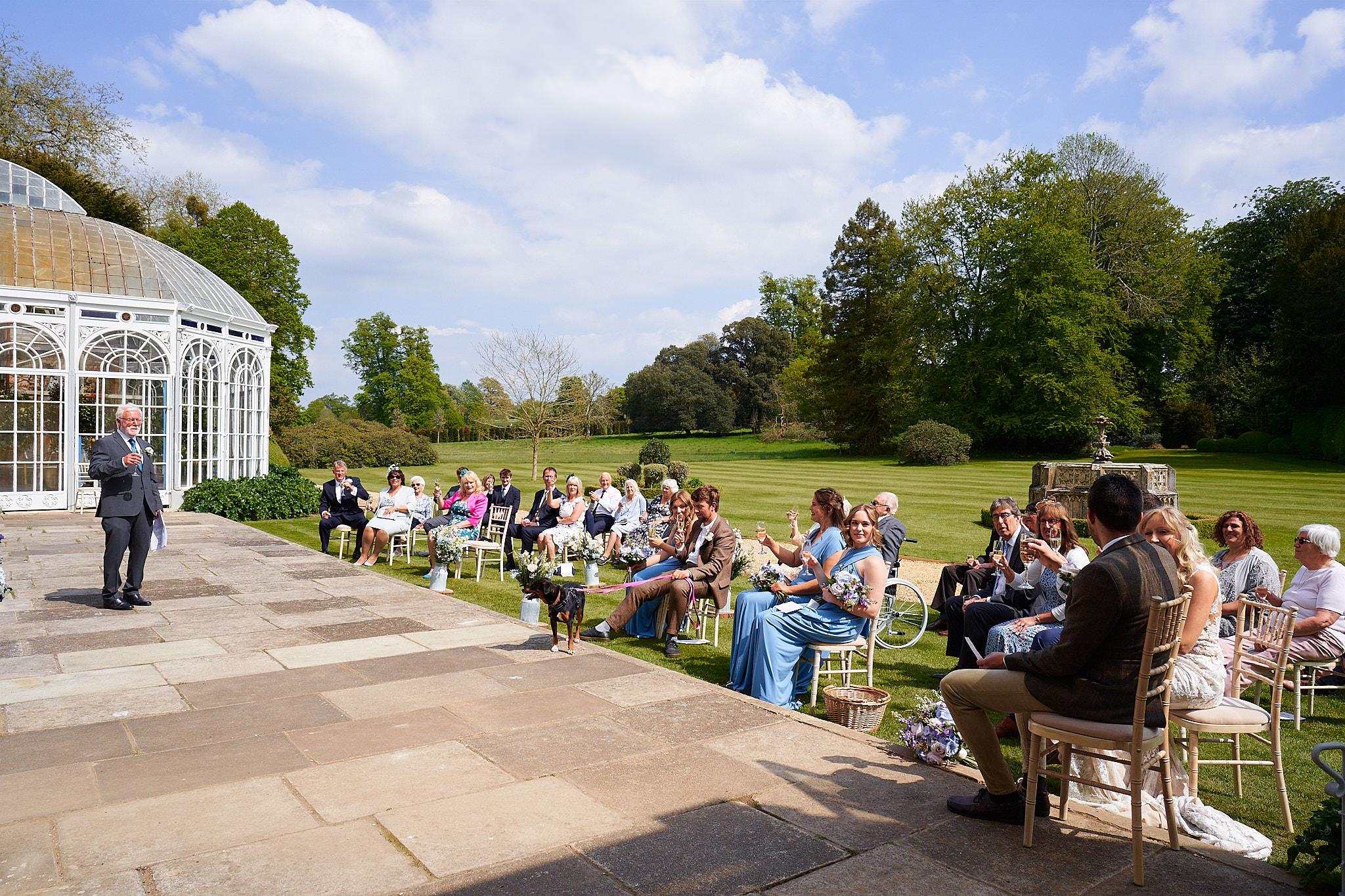 speeches outside avington park
